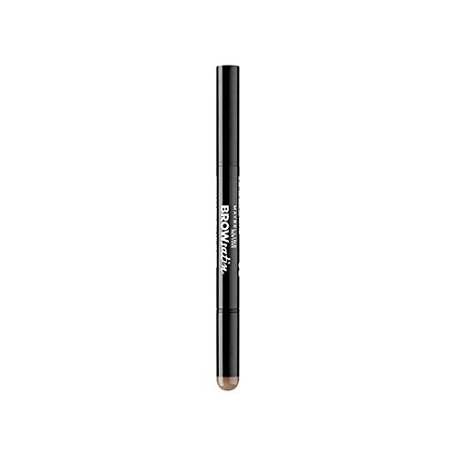 Maybelline Brow Satin Eyebrow Pencil 2 Medium Brown (Pack of 6) - メイベリンの眉サテン眉ペンシル2媒体ブラウン x6 [並行輸入品] B071H9SBPQ