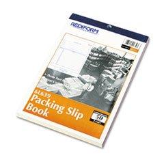** Packing Slip Book, 5 1/2 x 7 7/8, Carbonless Triplicate, 50 Sets/Book **