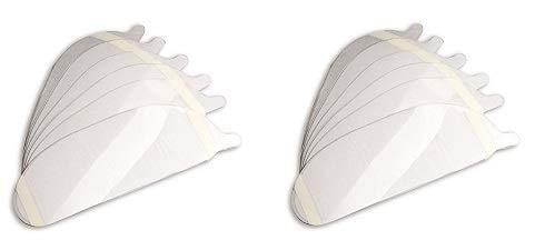 Allegro Industries 9901-25 Lens Cover Peel-Offs, Full Mask, Standard (Pack of 25) (2-(Pack)) by Allegro Industries