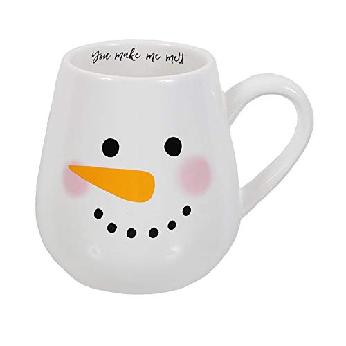 DEI 80005 Snowman Face Oversized Coffee Mug, 24 Ounces