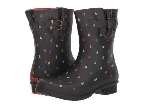 Chooka Women's Mid-Height Printed Rain Boot with Memory Foam Dot, 8 ()