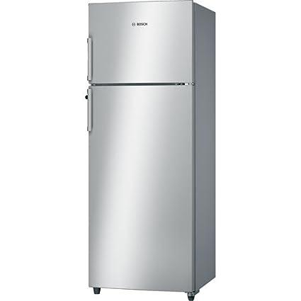 Bosch 288 L 2 Star Frost Free Double Door Refrigerator  KDN30VS20I, Silver  Refrigerators