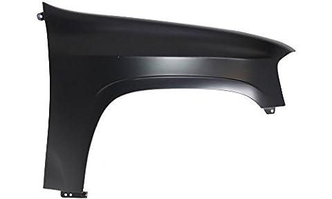 Evan-Fischer EVA16972024493 Fender for GMC Envoy 02-09 RH CAPA Certified Front Right Side Replaces Partslink# (Gmc Envoy Fender)