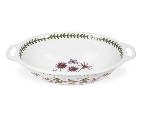 Portmeirion Botanic Garden Oval Handeled Bowl 15