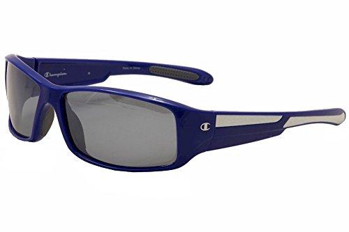 Champion Men's Marine Blue polycarbonate Rectangular Sunglasses - Champion Polarized Sunglasses