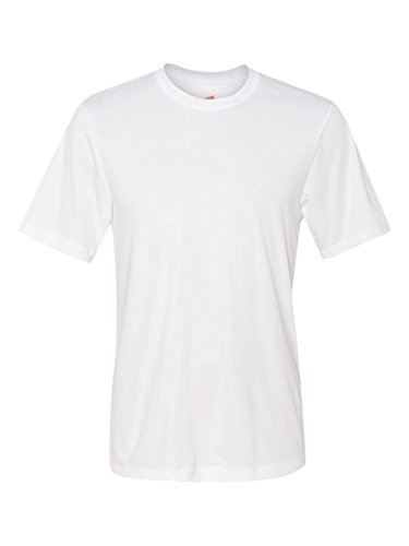 Hanes Cool DRI TAGLESS Men's T-Shirt,White,3X-Large by Hanes