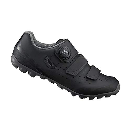 SHIMANO SH-ME400 LSG Series High-Performance Enduro, All Mountain, Off-Road, Trail Cycling Women's Bicycle Shoes, Black, 42