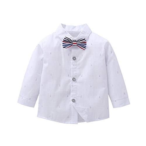 MetCuento Newborn Baby Boys Rompers Jumpsuit Long Sleeve One Piece Gentleman Bowtie Wedding Birthday Outfits Clothes