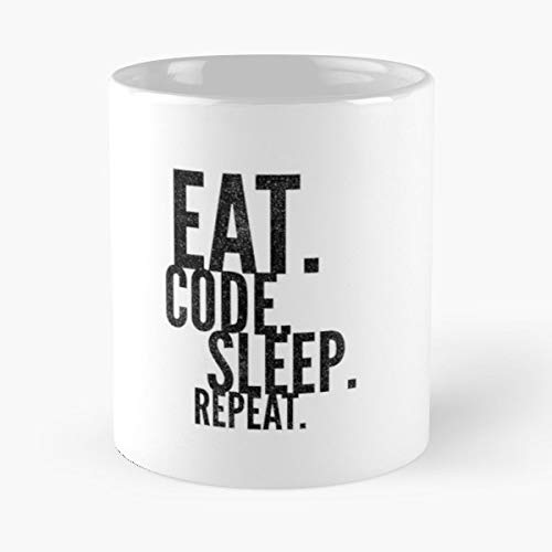 Coding Programmer Sleep Repeat Programming Developer Learning To Programm Pushing Code Best Gifts