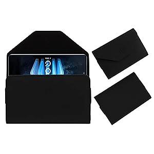 Acm Premium Flip Flap Case Compatible with Iqoo 7 Legend Mobile Pouch Leather Cover Black