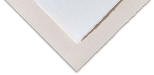 Fabriano Rosaspina 20 x 27'', 220 GSM - White (20 Sheet Pack) by Rosaspina Paper