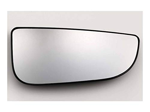 (APA Replacement For Towing Mirror Lower Glass W/Backing Passenger Side Dodge RAM 1500 2500 3500 4500 5500 09-18)