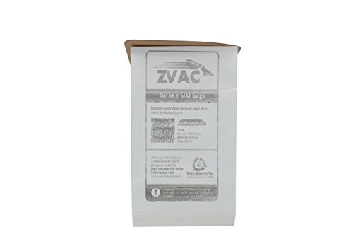 Style Mm Vacuum Bags (15 Eureka Style MM Micro-lined Mighty Mite & Sanitaire Allergen Filtration Vacuum Cleaner Bags; Similar to Eureka Part # 60297A , 60295, 60296, 60297, 60295B; By ZVac)