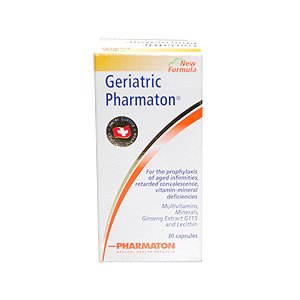 Geriatric Pharmaton 30 caps.