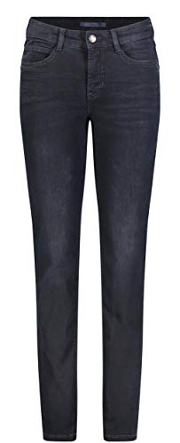 Wash Blue Dark Straight Bleu Jean Angela MAC D898 Droite Femme Jambe Coupe Blk vfOUvgSzqw