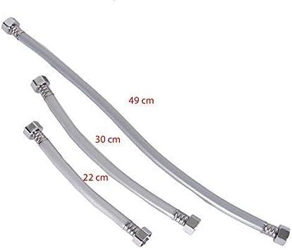 Manguera de Ducha Manguera de Ducha Manguera de Ducha Alcachofa Tubo Flexible para Sanitario Manguera M, M13-30cm Schlauch.