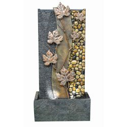 Ore International FT-1187/2L Maple Leaf Floor Fountain, 36-Inch