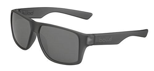 Bolle Brecken Matte Grey Crystal Polarized 12430 Sunglasses TNS Gun Lens ()