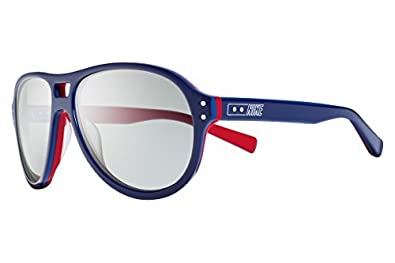 Amazon.com: Nike 2013 Gafas de sol MDL. 81 BLUE-RED humo: Shoes