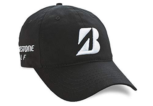 Bridgestone Cap - Bridgestone Golf 2019 Tour B Relax Cap Hat, Adjustable Closure, Black