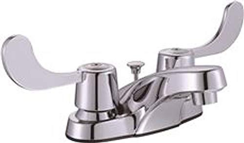 Premier 3552565 Bayview Two-Handle Center Set Lavatory Faucet with Pop-Up, Chrome, 7.592