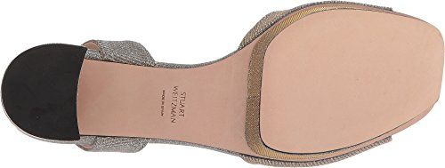 Stuart Weitzman Donna Newdeal Sandalo Con Tacco In Magnesio Nocturn