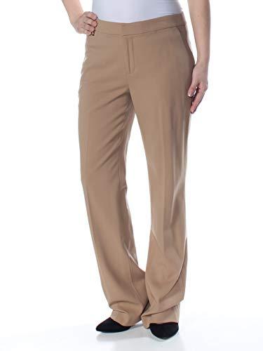 Lauren by Ralph Lauren Womens Straight-Leg Dress Pants Beige ()