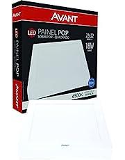 Painel Pop Sobrepor Led Bivolt, Avant, 768101372, 18W, Branco