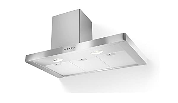 Faber Stilo SX/SP - Campana extractora de pared (acero inoxidable, 120 cm): Amazon.es: Grandes electrodomésticos