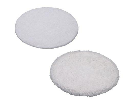 Einhell Polierhauben passend für Auto Poliermaschine BT-PO 110 (1 Textil- und 1 Synthetik Polierhaube)