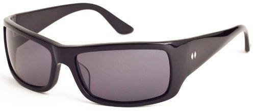 Tres Noir Hombres de la Chandler Wrap gafas de sol, hombre ...