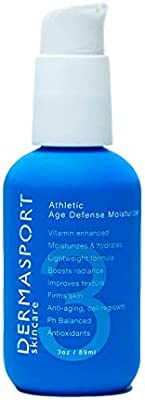DERMASPORT Active Age Defense Moisturizer Vitamin Beauty Face Cream Lotion