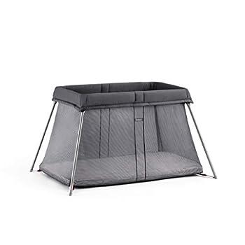Image of Baby BABYBJORN Travel Crib Easy Go, Anthracite