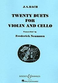Twenty Duets. For violin and cello. Transcribed by Frederick Neumann. [Score.] ()