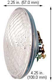 Incandescent Light Bulbs 4044 PAR36 12V 12W (Case of 10) by Damar (Image #1)