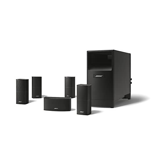 Bose Acoustimass 10 Series V Home Theater Speaker System 2 The best performing Acoustimass system from Bose delivers spacious surround sound for larger rooms Redesigned Direct/Reflecting Series II speakers have a slimmer profile and can mount flush to your wall Powerful low note effects from powered Acoustimass module with two high performance drivers