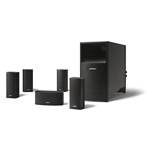 Bose Acoustimass 10 Series V Home Theater Speaker System (Black) (720962-1100)
