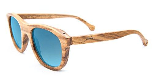 Eyewear Gafas tecnología Mallorca APP Azul gratuita y de madera con Collection Balearic sol de NFC Fuster's dp1cd