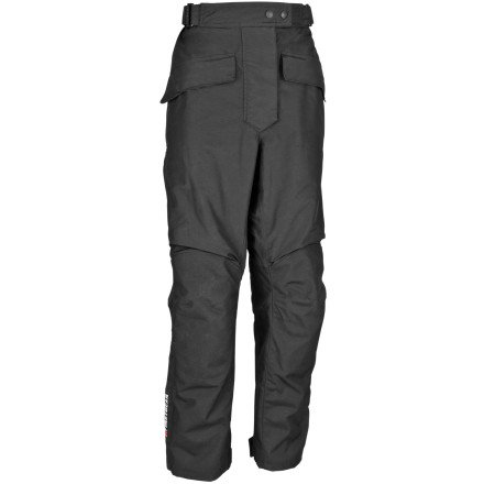 FirstGear HT Overpants Shell Women's Textile Street Bike Motorcycle Pants - Black / Size 10