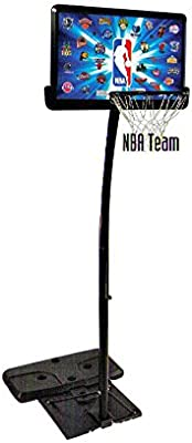 NBA TEAM SPALDING CANASTA DE BALONCESTO CON PIE PARA EXTERIOR ...
