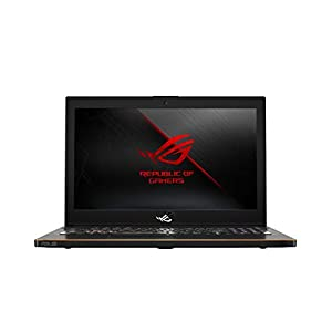 Asus ROG Zephryrus M GM501GM-EI005T 15.6-inch FHD Gaming  Laptop (8th Gen Intel Core i7-8750H/16GB/1TB SSHD+ 256GB SSD/Windows 10/GTX 1060 6GB Graphics/2.40 Kg), Black Metal