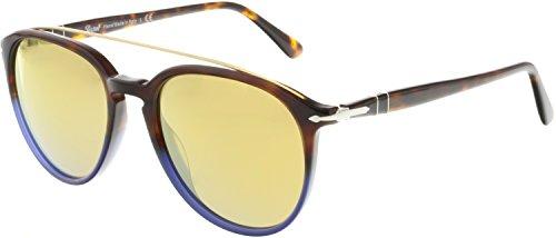 Persol PO3159S 9045W4 Terra E Oceano PO3159S Round Sunglasses Lens Category 2 - Sunglasses Oceano