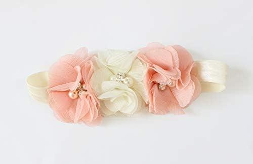 OoSweetCharlotteoO 2pcs Baby Girl Chiffon Bloomer /& Headband Set Newborn Photo Prop Baby Girl Cake Smash Outfit