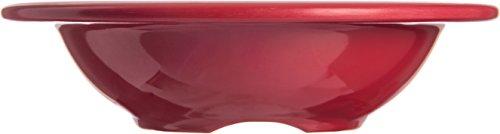 Carlisle 4304258 Durus Rimmed Melamine Fruit Bowl, 4 Oz., Roma Red (Pack of 48) by Carlisle (Image #3)