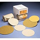 Abrasive Disc 5 inch P80 A/O Gold Psa 100/Roll New Condition