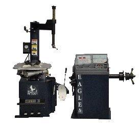 Eagle Equipment WSC550-1040 - Wheel Balancer and Tire Changer Combo (Tire Change Machine)