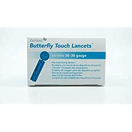Butterfly Touch Lancets (100)