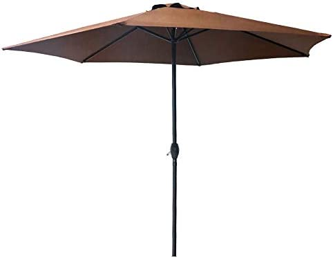 6.5 Portable Beach and Sports Umbrella by Trademark Innovations Blue