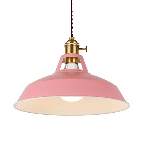 Pink Pendant Light in US - 7