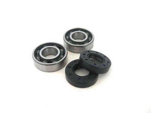Main Crank Bearing (Boss Bearing KTM-MC-1012-6D9-2 Main Crank Shaft Bearings and Seals Kit KTM 50 SX Pro Junior Senior 1998 1999)